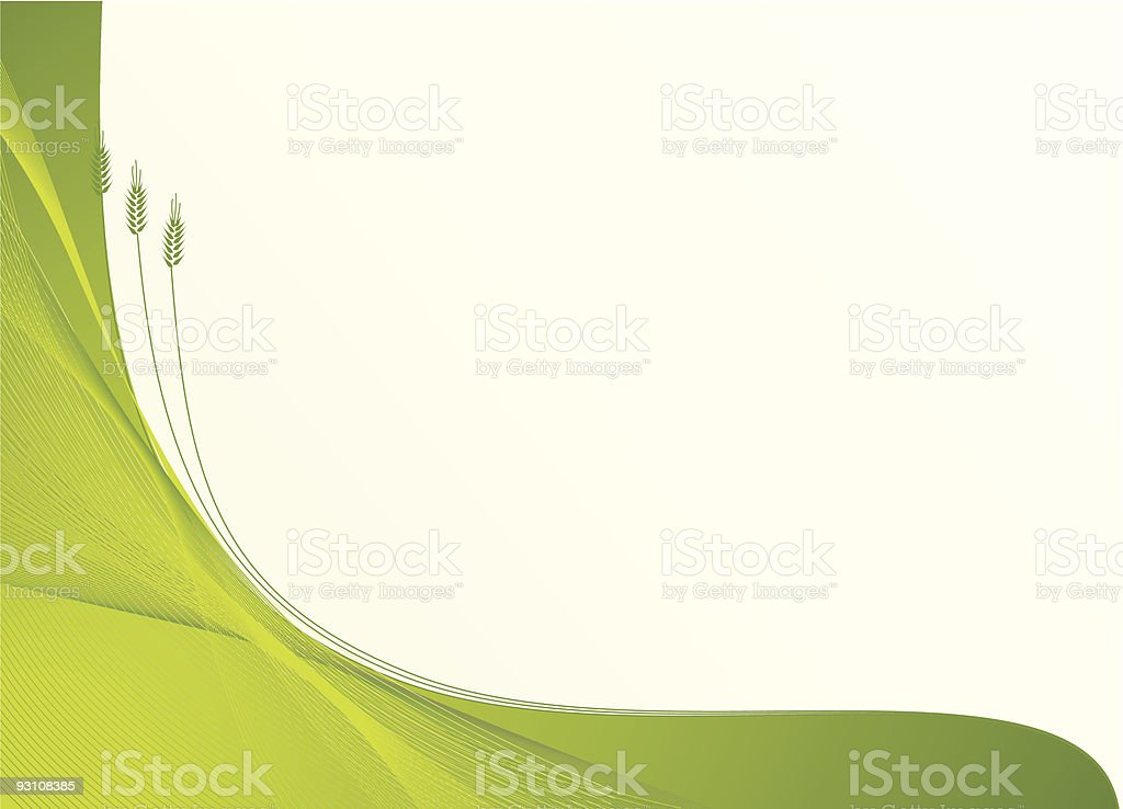 growth and harvest background royalty-free stock vector art