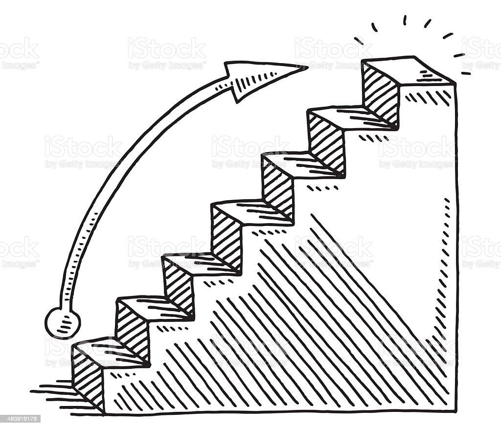 Wachstum Diagramm Zeichnen Businessbar Stock Vektor Art und mehr ...