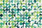 Growth Geometric Circle Pie Horizontal Pattern. Global Colors used, so you can easily change the base colors with just a few clicks. The colors in the .eps-file are in RGB. Transparencies used. Included files are EPS (v10) and Hi-Res JPG (5208 x 3472 px).