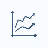 Zielflagge Für Racing Skizzesymbol Stock Vektor Art und mehr Bilder ...