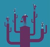 Vector illustration - Growth