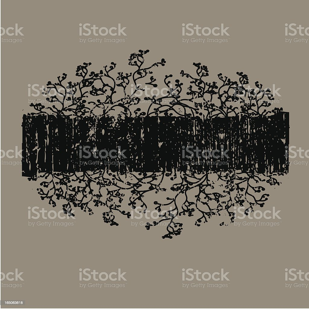 Grunge Abstract Banner royalty-free stock vector art