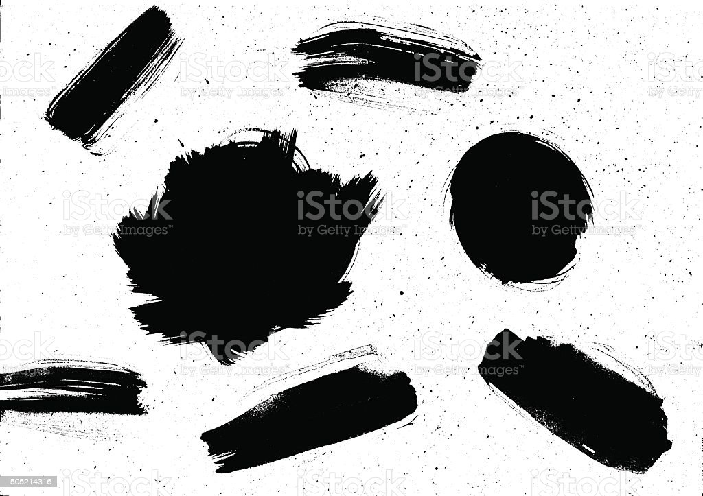 Grunge aquarelle texture vector art illustration