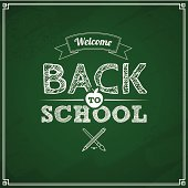 Welcome back to school grunge background. Aics3 and hi-res jpg files are included.