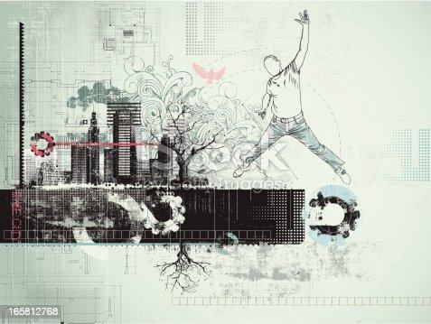 istock Grunge background 165812768