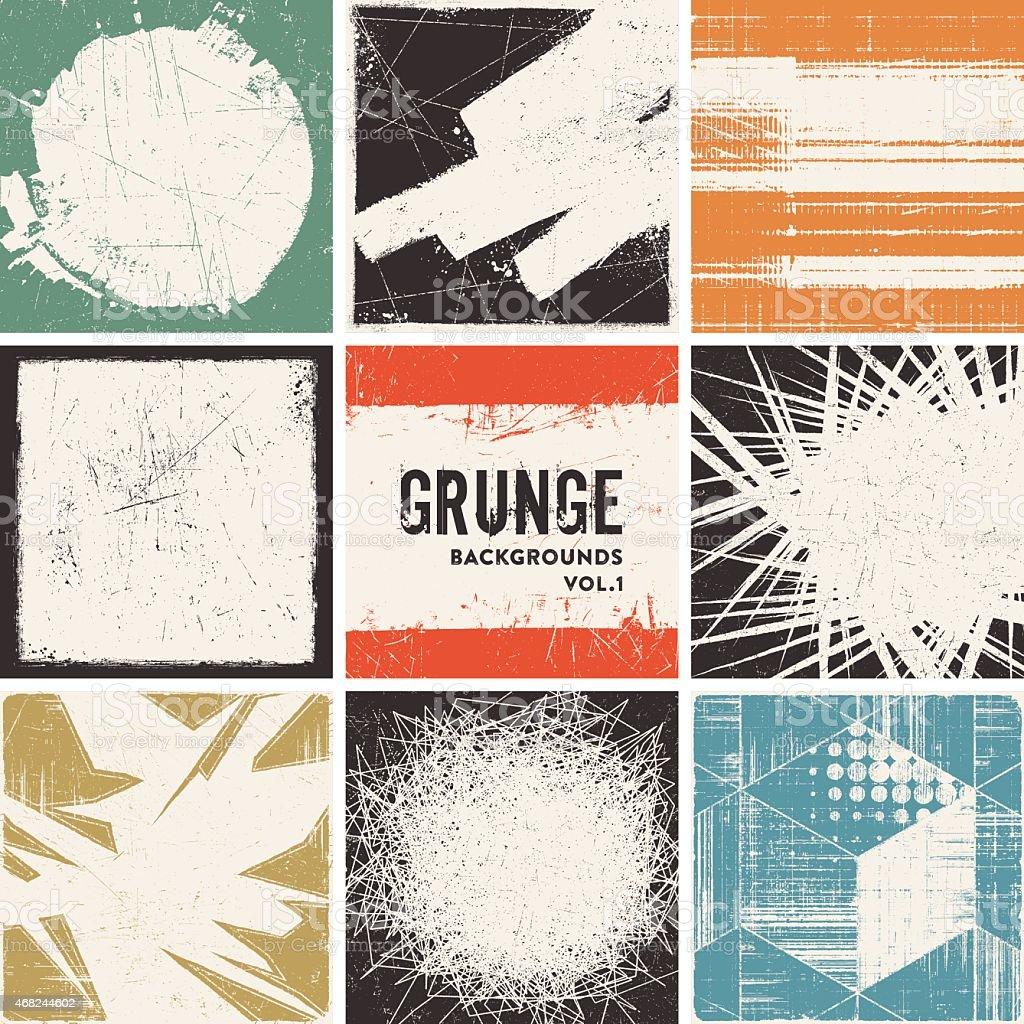 Fondo Grunge - ilustración de arte vectorial
