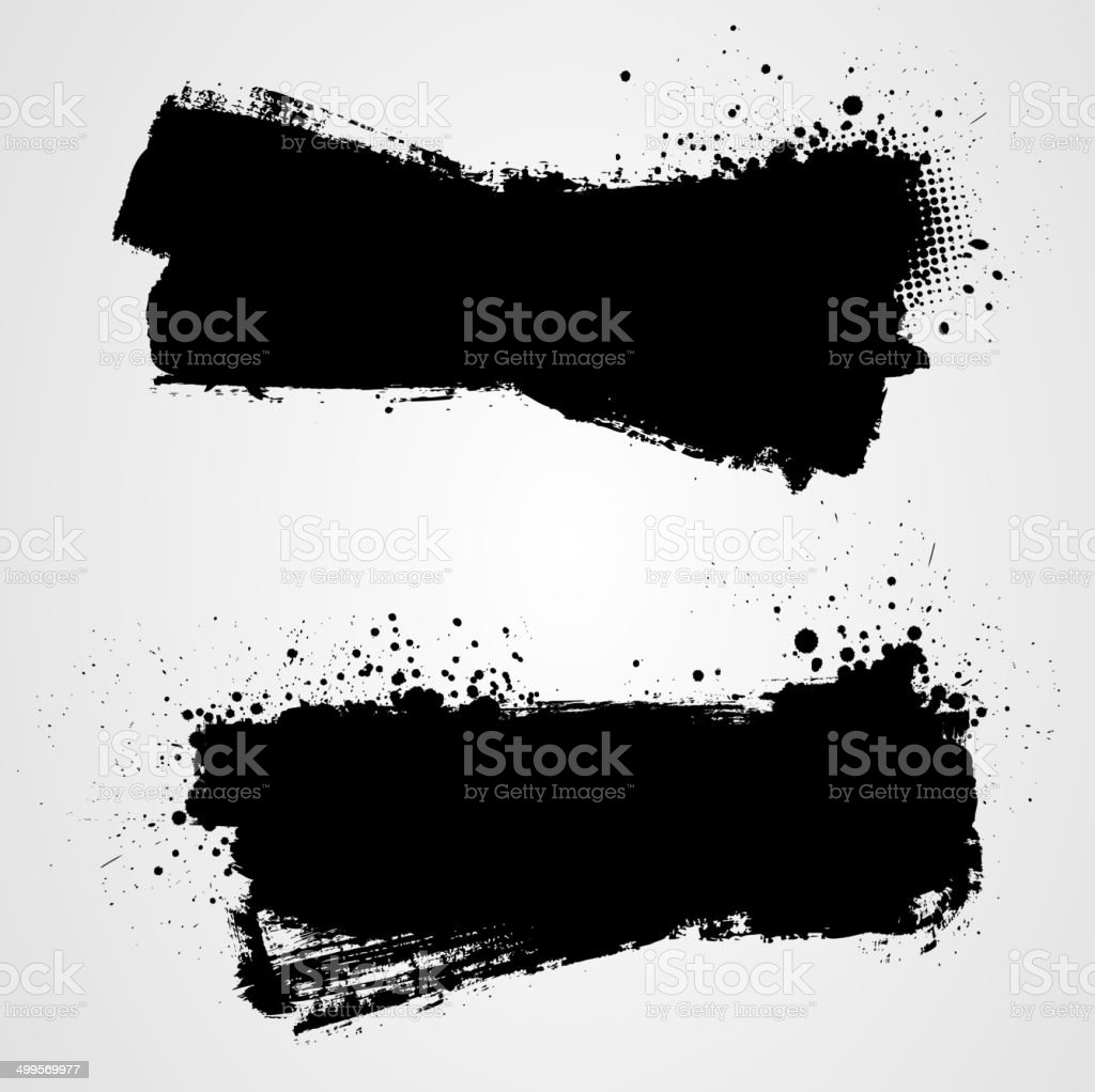 Grunge backgrounds vector art illustration