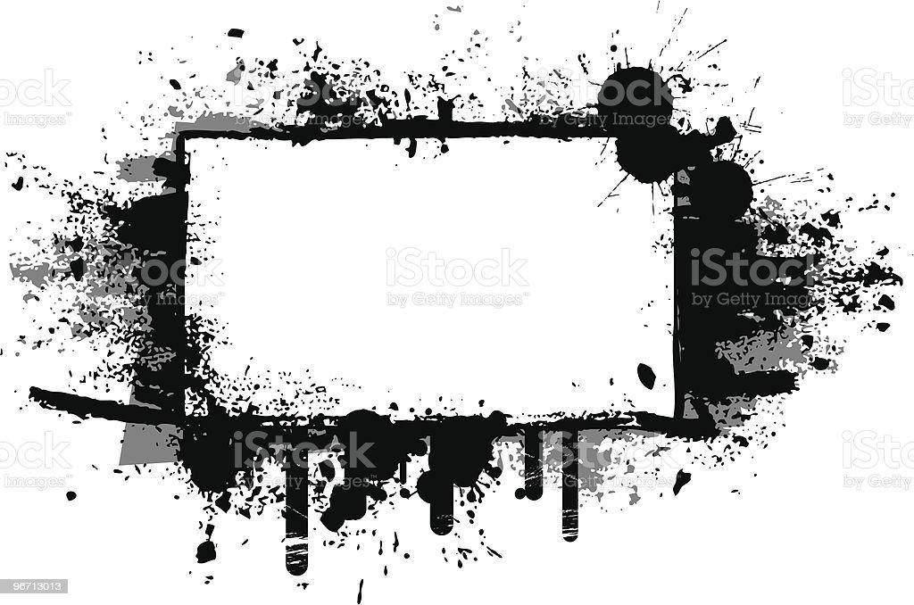Grunge Banner 4 royalty-free stock vector art