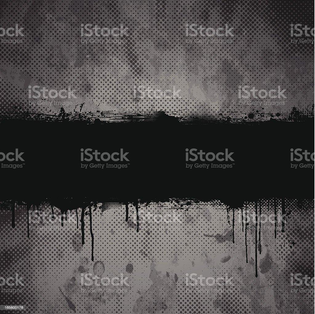 Grunge Banner vector art illustration