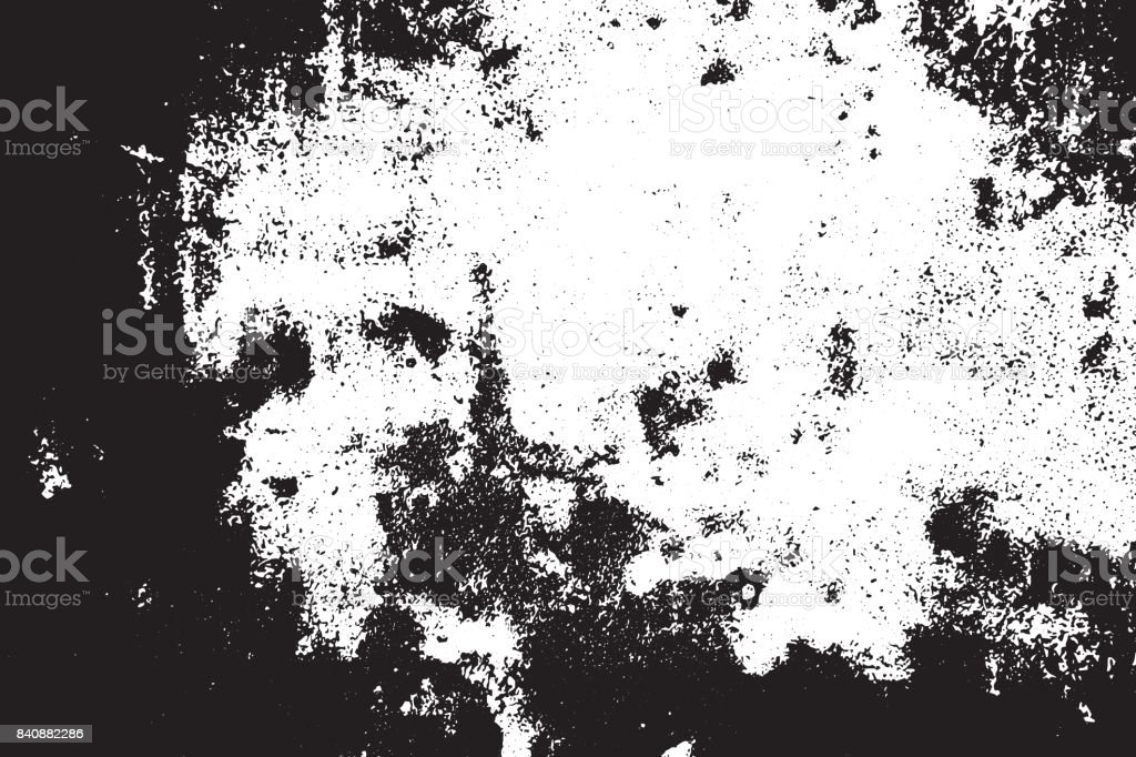 Grunge black and white scratched textured background. Abstract messy and distressed element. (vector) vector art illustration