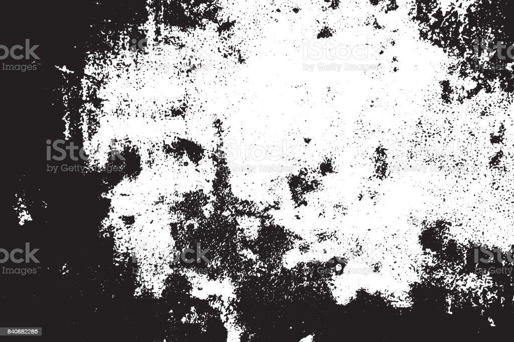 Grunge negro y blanco había rayado con textura de fondo. Elemento abstracto desordenado y angustiado. (vector) - ilustración de arte vectorial