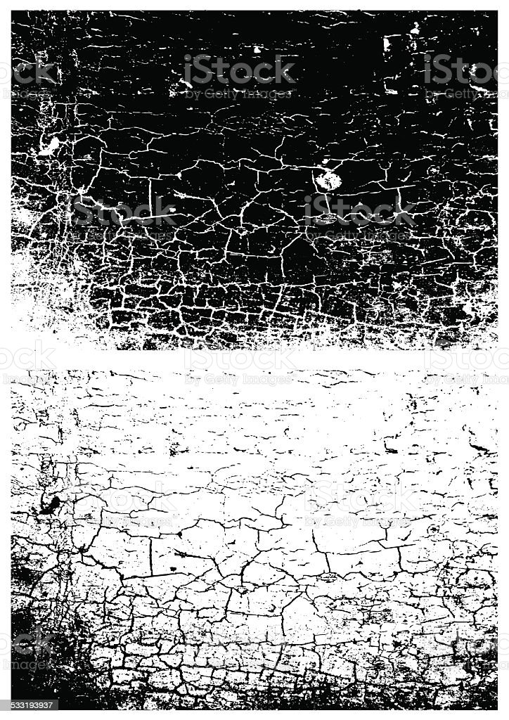 Grunge black and white texture. Distress texture. Scratch texture. vector art illustration