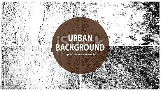 Grunge black and white vector texture. Grunge urban background, texture vector, dust overlay distress grain, dark messy dust overlay distress background. Easy to create abstract scratched, vintage effect with noise and grain.