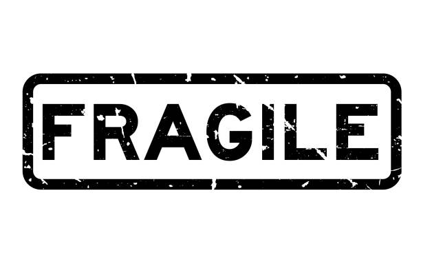 Royalty Free Fragile Stamp Clip Art, Vector Images ...