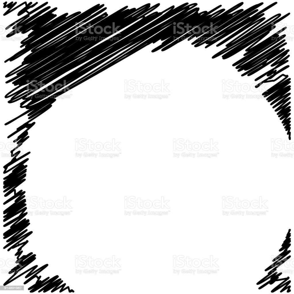 grunge black ink border frame background stock vector art more rh istockphoto com grunge striped background vector black grunge vector background