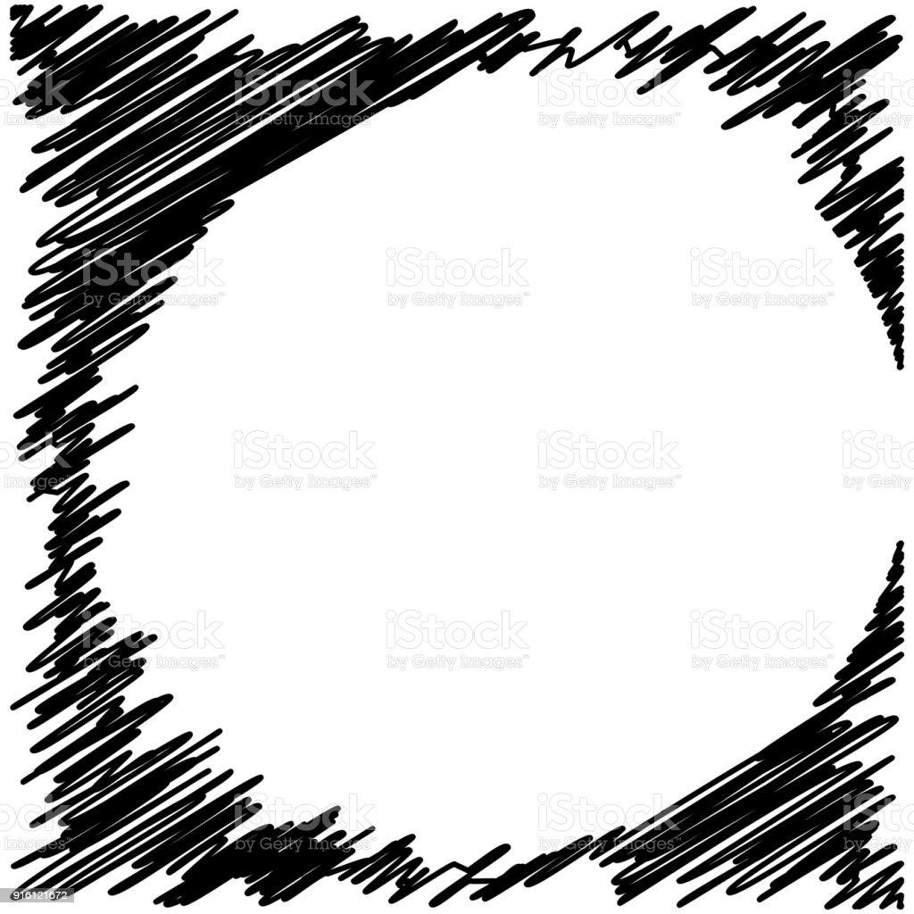 grunge black ink border frame background stock vector art more rh istockphoto com grunge vector background free black grunge vector background