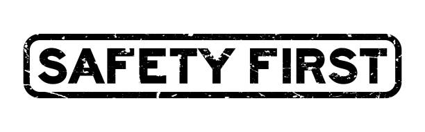 Royalty Free Safety First Logo Background Clip Art, Vector ...