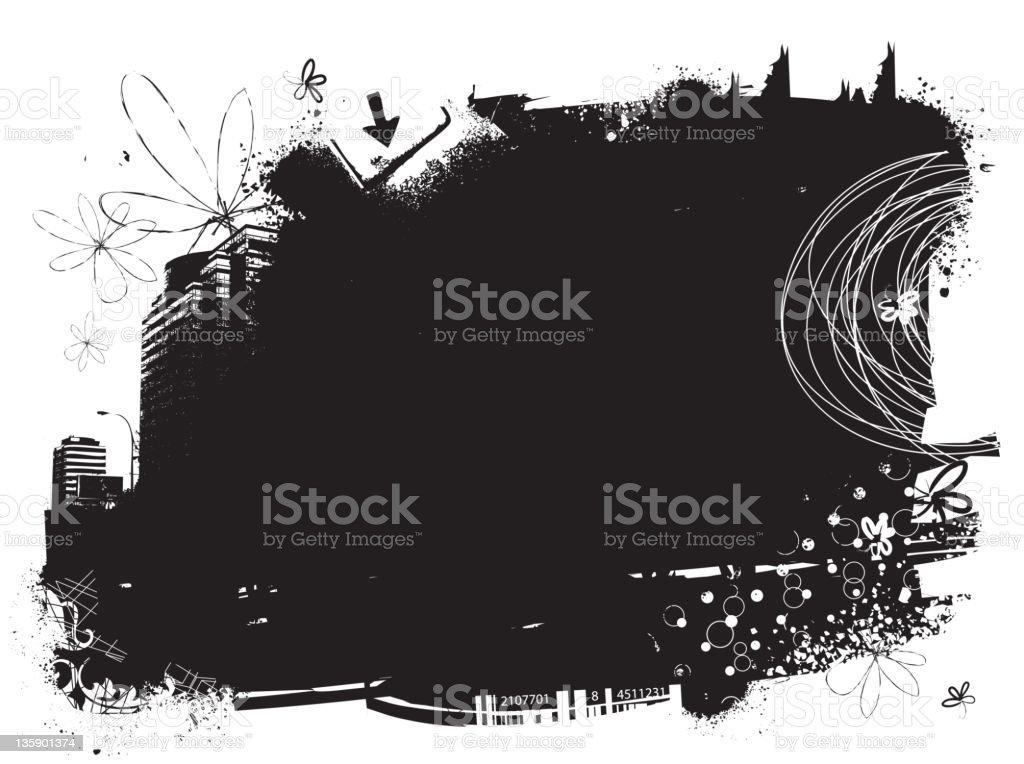 grunge block royalty-free stock vector art