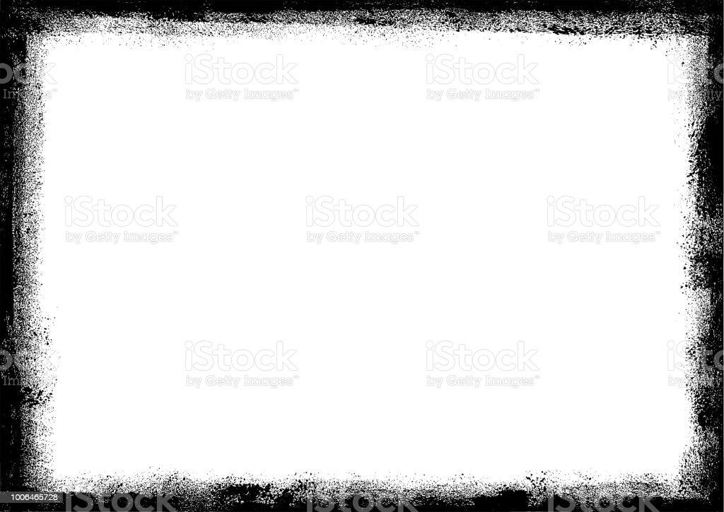 Frontière Grunge image - Illustration vectorielle