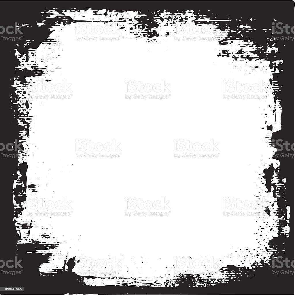 Grunge border royalty-free stock vector art