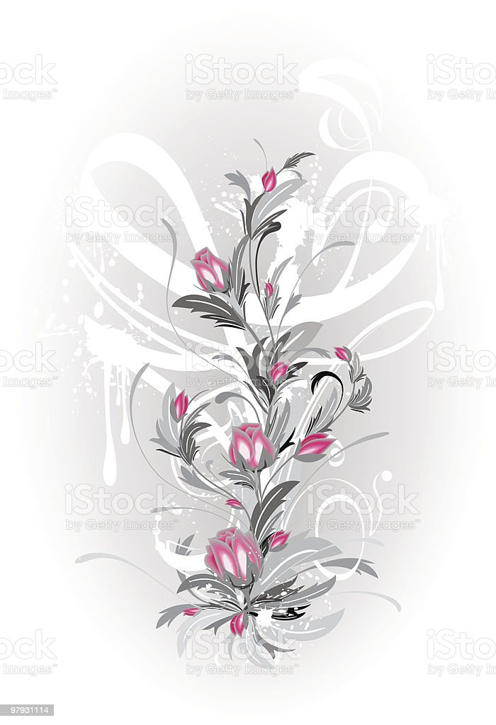 Grunge bouquet. royalty-free grunge bouquet stock vector art & more images of art