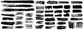 istock Grunge Brush Stroke Paint Boxes Backgrounds 1186580168