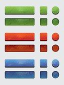 Grunge Buttons