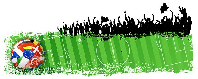 grunge championship banner