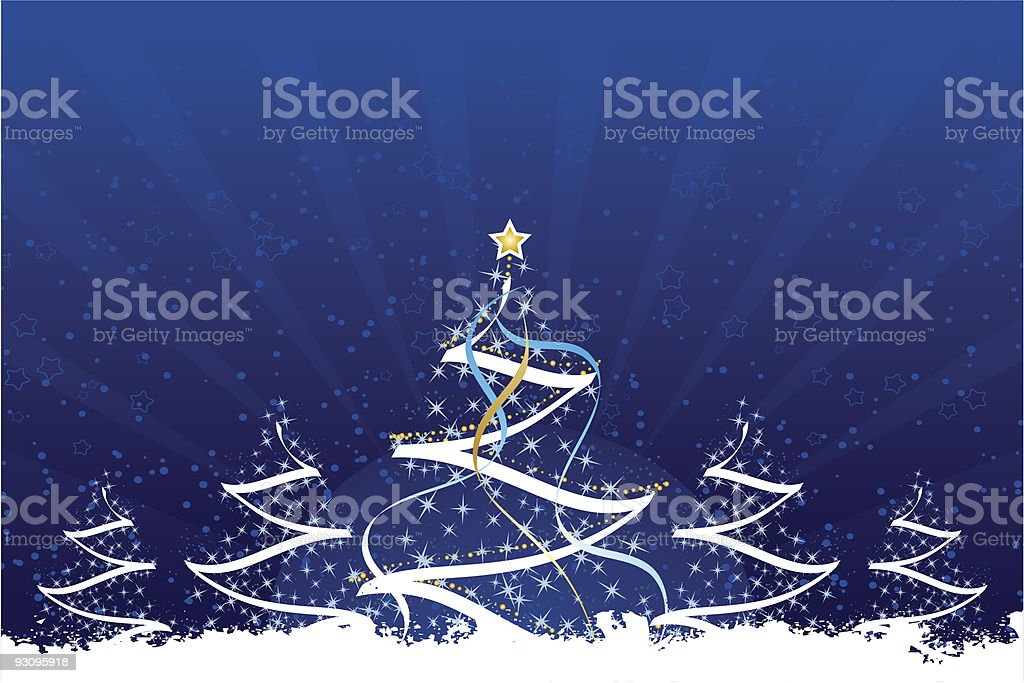 Grunge Christmas trees royalty-free grunge christmas trees stock vector art & more images of abstract