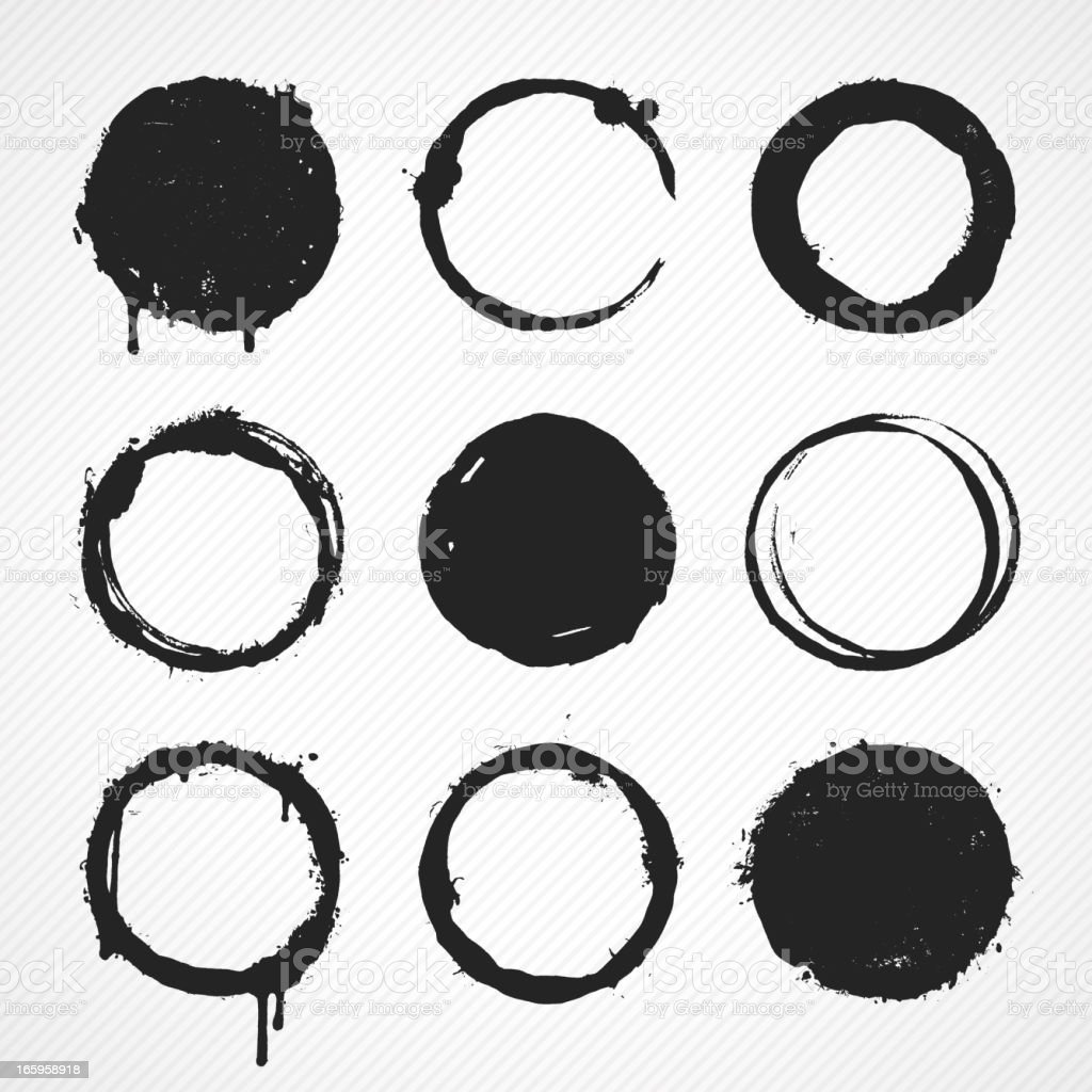 of vector grunge circle - photo #43