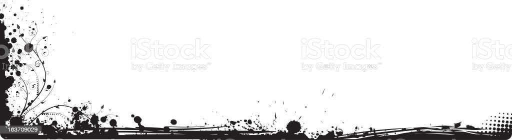 Grunge corner royalty-free stock vector art