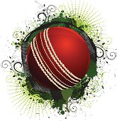 Grunge Cricket Ball