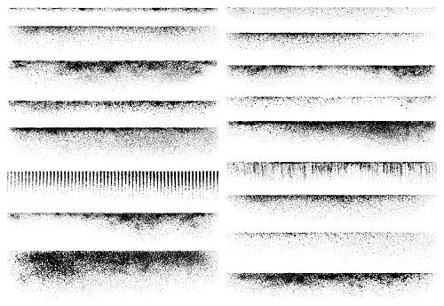 Grunge design elements, texture edges
