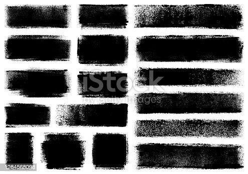 istock Grunge design elements 1284568098