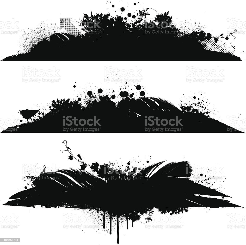 Grunge designs royalty-free stock vector art