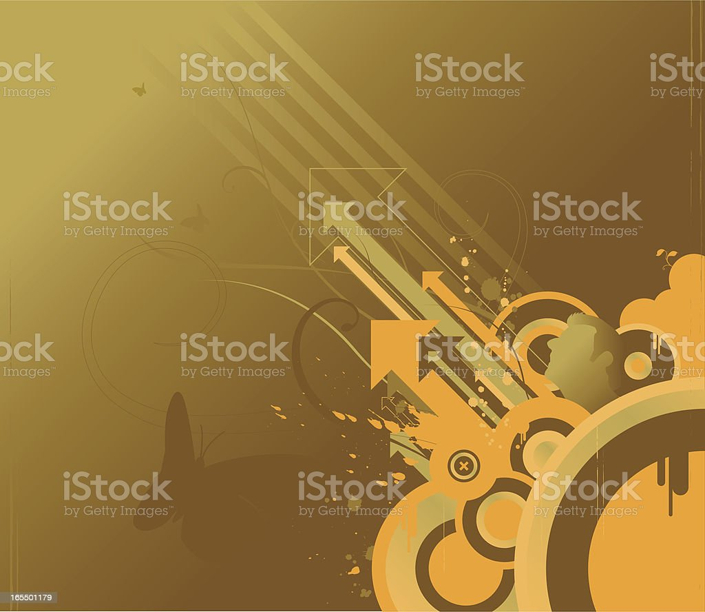 grunge direction royalty-free stock vector art