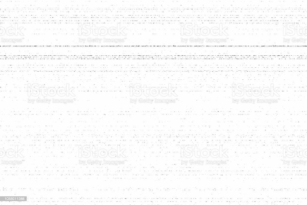 Grunge dirty photocopy texture. Vector illustration, horizontal stripes