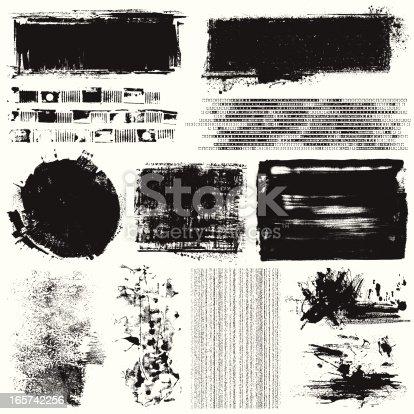 istock Grunge Elements 165742256