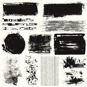 Grunge elements.Hi res jpeg included.More works like this linked below.