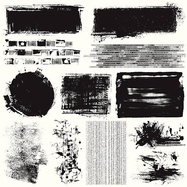grunge 要素 - グランジフレーム点のイラスト素材/クリップアート素材/マンガ素材/アイコン素材