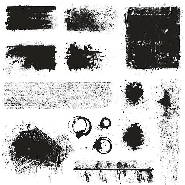 grunge 要素 - グランジテクスチャ点のイラスト素材/クリップアート素材/マンガ素材/アイコン素材