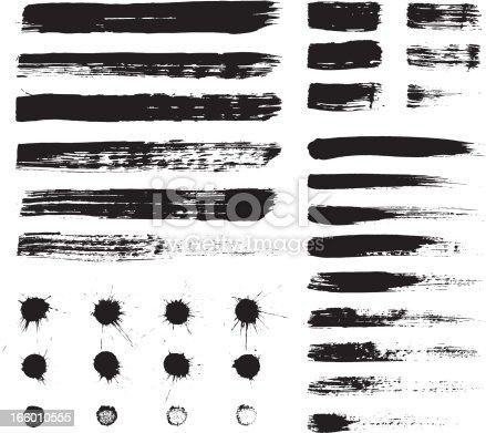 istock Grunge elements 166010555
