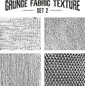 Grunge fabric textures set 2.