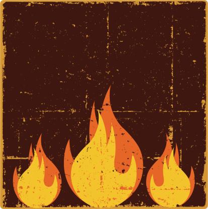 Grunge Flames