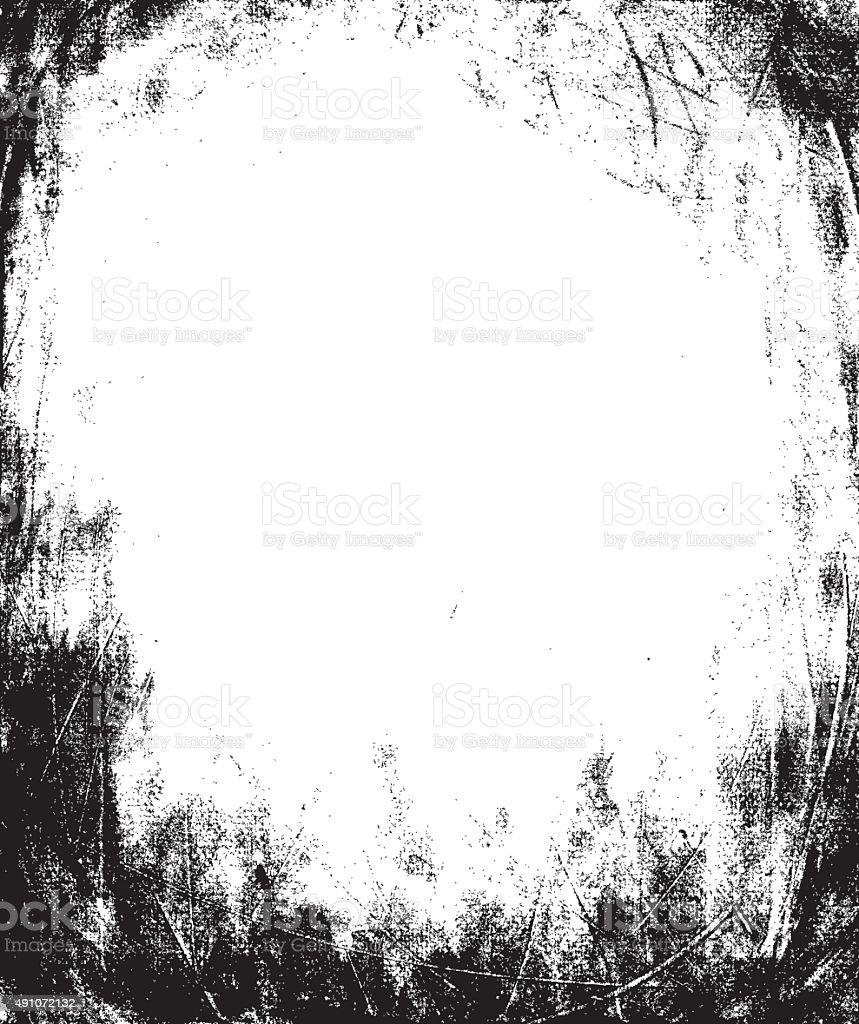 Grunge Frame Texture vector art illustration