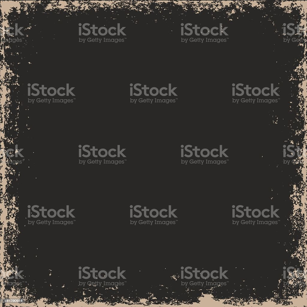 Grunge frame vector art illustration