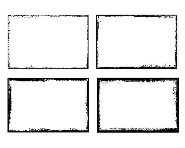 垃圾搖滾框架 - 有邊框的 幅插畫檔、美工圖案、卡通及圖標