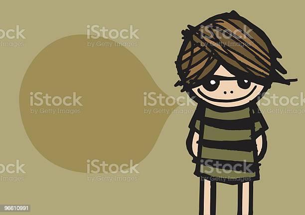Grunge Girl-vektorgrafik och fler bilder på En människa
