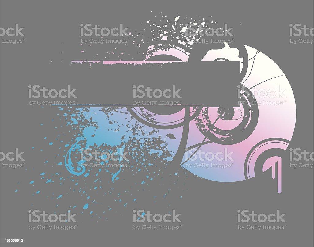 grunge gradient banner 3 royalty-free stock vector art