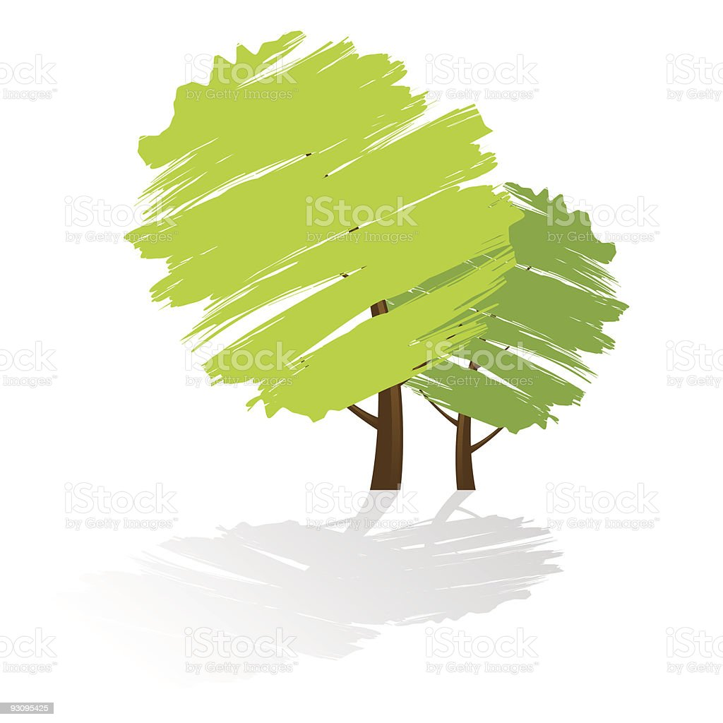 Grunge green tree icon royalty-free grunge green tree icon stock vector art & more images of abstract